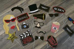 Fotobox, Accessoires, Hollywood