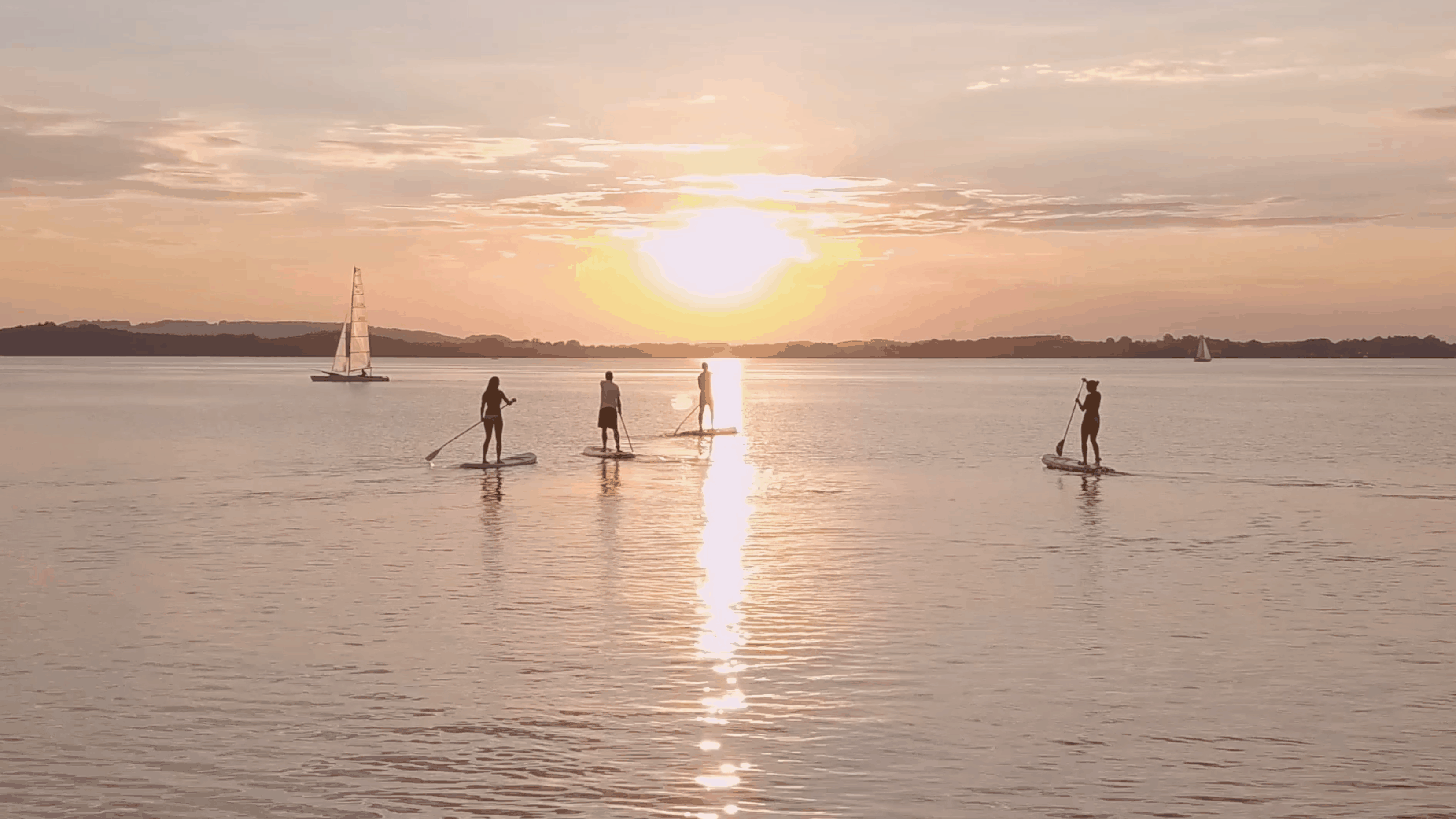 Stand Up Paddling Chiemsee