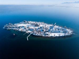 Luftaufnahme Fraueninsel