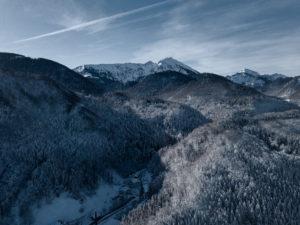 Hochfelln Winterlandschaft