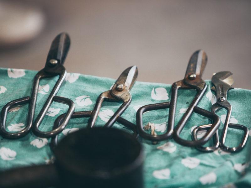 Glasbläser Werkzeug