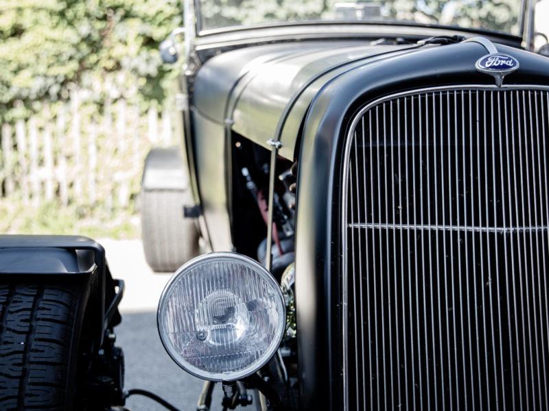 Ford Model A Scheinwerfer