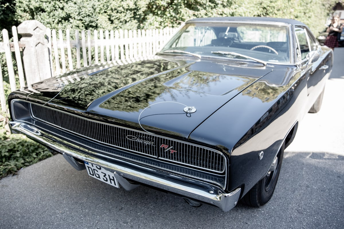 Charger RT muscle car