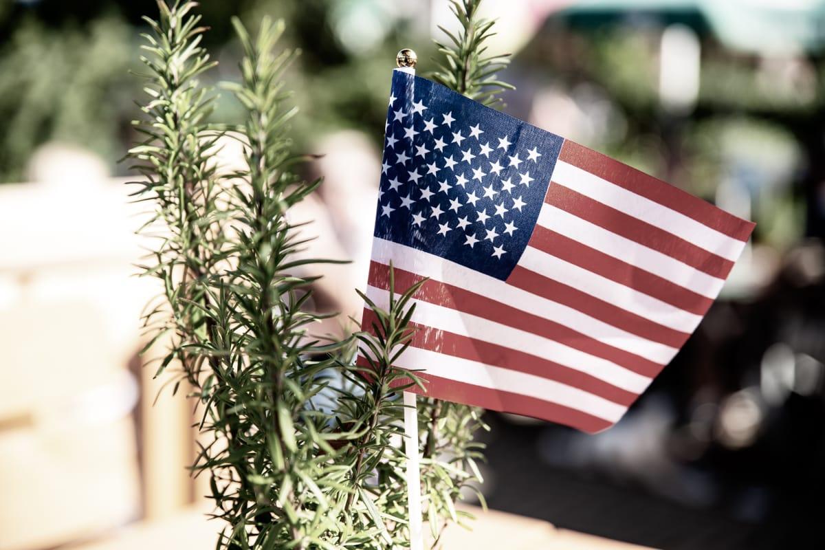 USA Fahne US Car Treff