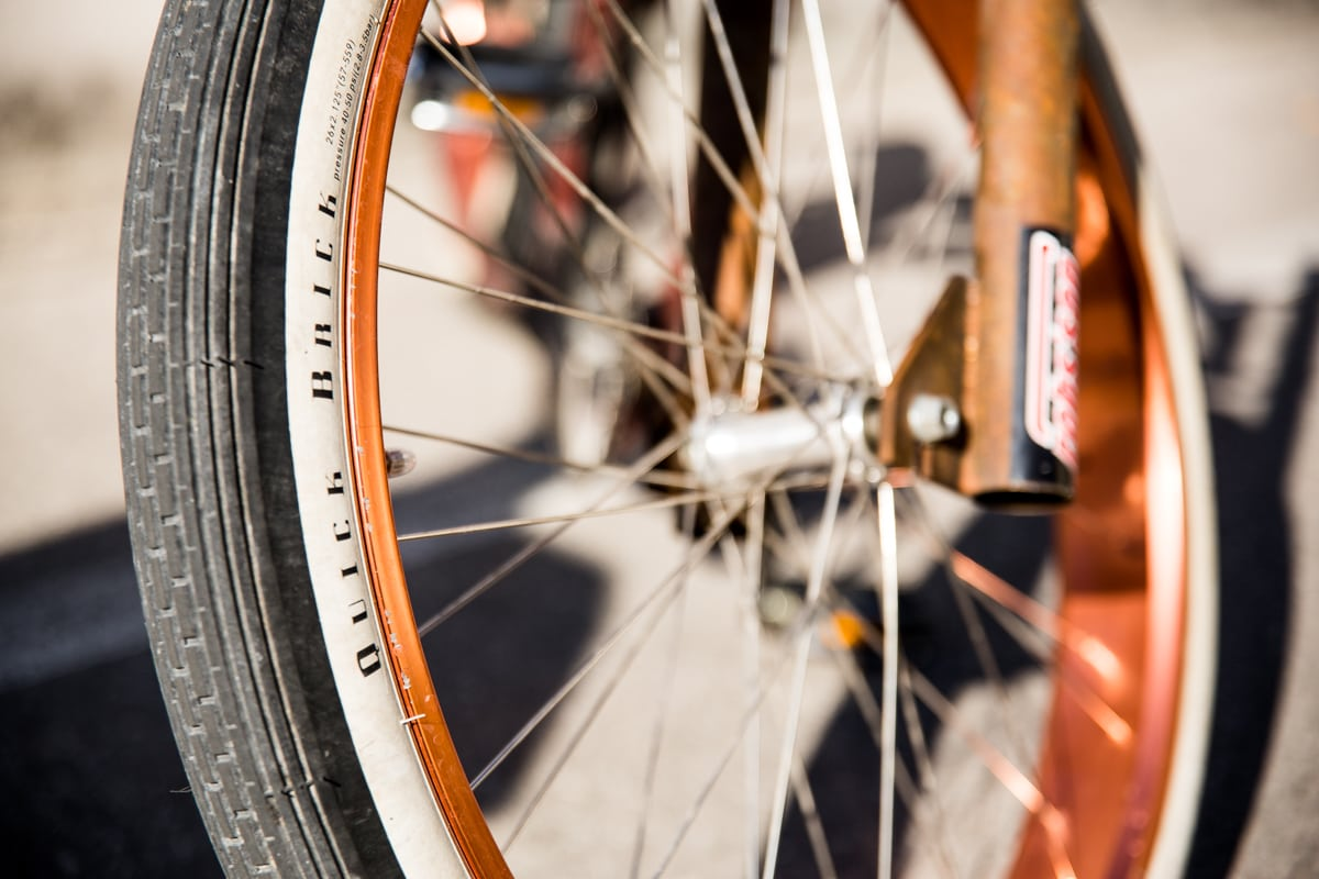 Robs´son Custom Bike at Route 66 goes Übersee