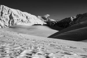 Bergpanorama Lazaun