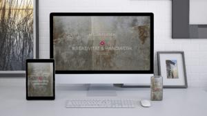 Website Beispiel MockUp Miller Fliesenleger