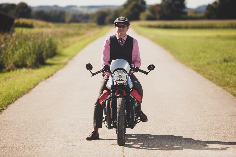 Gentleman´s ride Moto Guzzi