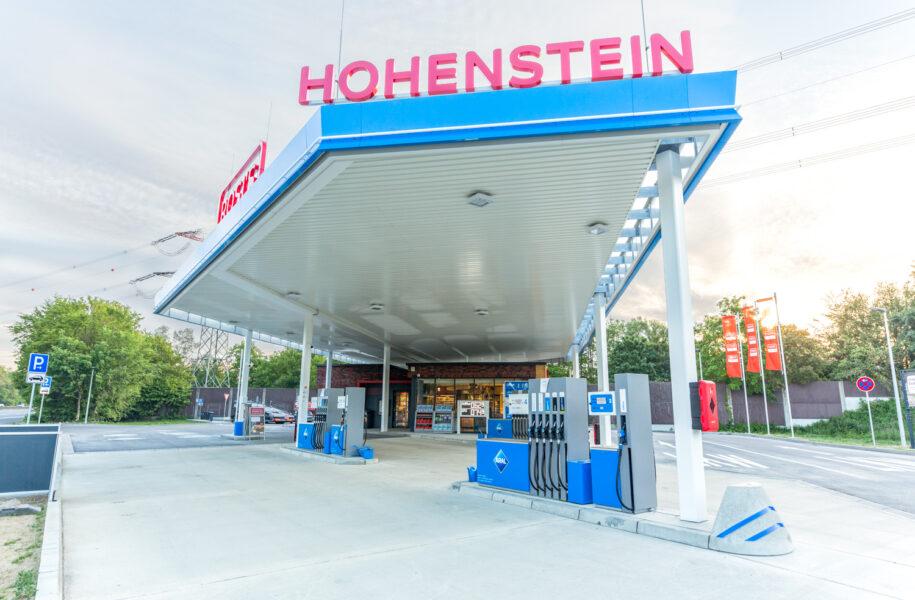 Tankstelle Hohenstein | Kunde: Herecon