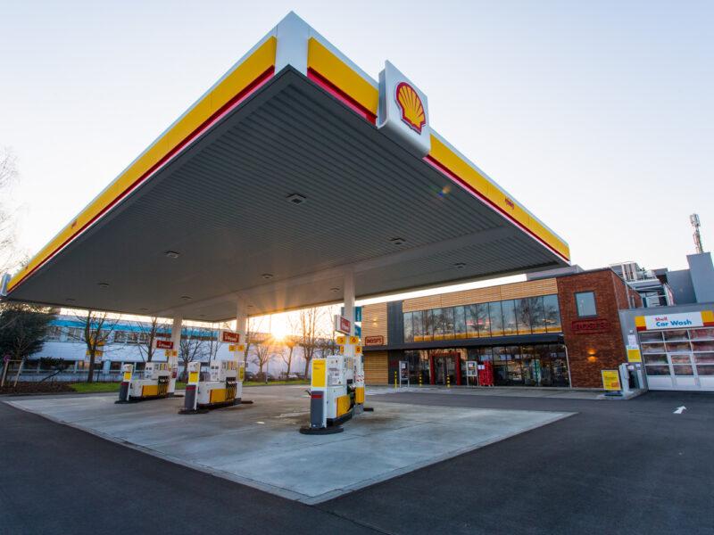 Tankstelle Shell Eching