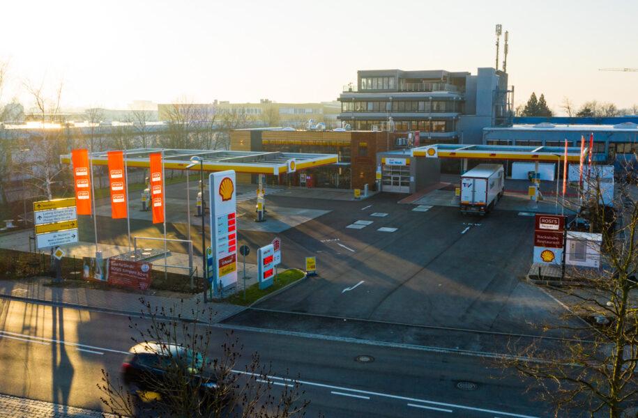 Tankstelle Shell Eching |Kunde: Herecon